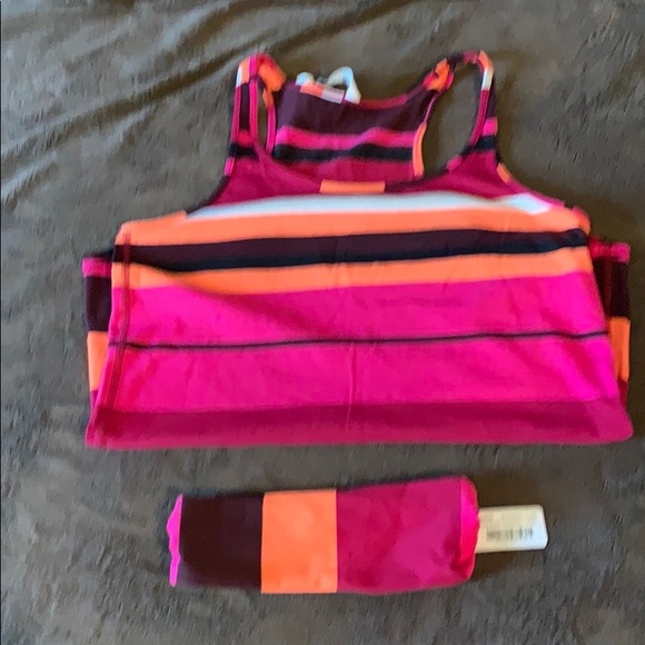 lululemon athletica Tops - Tank top and headband